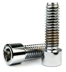 7/16-20   Chrome Plated Steel Socket Head Cap Screws - Select Length And Qty