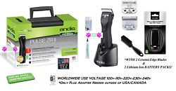 Andis Pulse Zr Ii Cordless Clipper Kitand2 Battery10 And 5fc Ceramicedge Bladecase