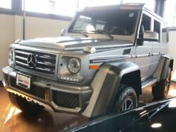 2017 Mercedes-Benz G-Class G 550 4x4 Squared Diamond Silver Metallic Mercedes-Benz G-Class with 13907 Miles available now!