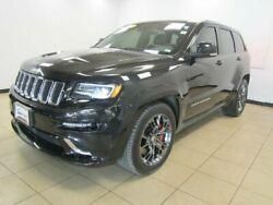 2016 Jeep Grand Cherokee SRT Night Brilliant Black Crystal Pearlcoat Jeep Grand Cherokee with 18005 Miles available