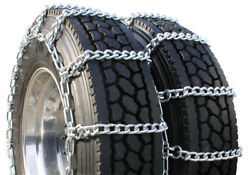 Mud Service Dual 10.00-20 Truck Tire Chains
