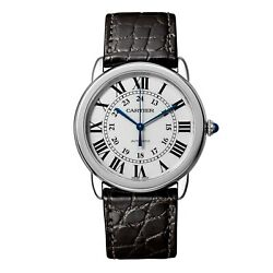 New Ronde Solo Stainless Steel Automatic 36 Mm Medium Watch Wsrn0013