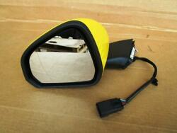 OEM 2015-2018 EURO Ford Mustang LH Left Driver Side View Mirror Triple Yellow