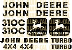 Affordable Decal Sets For Your John Deere Dozers, Loaders, Skid Steer, Mini Ex.