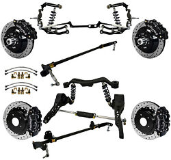 Ridetech Coiloversteering Systemboth Sway Barswilwood Disc Brakes13 Drlblk