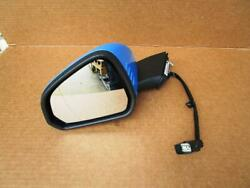 OEM 2015-2018 EURO Ford Mustang LH Left Driver Side View Mirror Grabber Blue