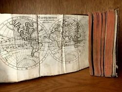 1780 BRIEF AND EASY METHOD TO UNDERSTAND THE GEOGRAPHY - Atlas Book with 17 maps