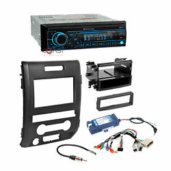 Planet Audio Car Stereo Bluetooth Dash Kit Interface for 2009-14 Ford F-150