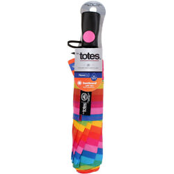 Raines by Totes NeverWet SunGuard Umbrella 41 inch Auto Open Assorted Colors $19.55