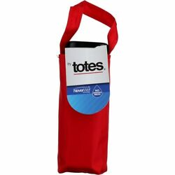 4 Pack Raines by Totes NeverWet Flat Umbrella 38 inch Manual Assorted Colors $57.28