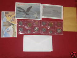 Canada 1986 Proof Like Set One Set From The Lot.