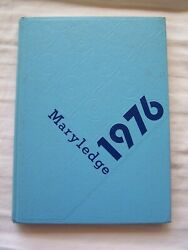 1976 Saint Mary's Springs High School Yearbook Fond Du Lac, Wisconsin