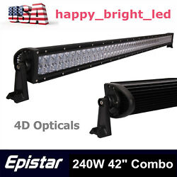 42inch 240w 4d Combo Led Work Light Bar Driving Suv Truck Dodge Ford 288w 300w