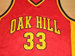 Kevin Durant Oak Hill High School Jersey Red Sewn New - Any Size