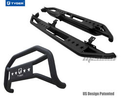 Tyger Armor And Bumper Guard Combo Fit 10-18 Wrangler 4 Door Excl.winter Edition