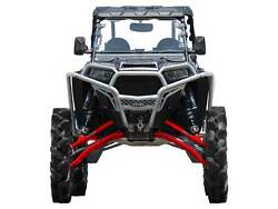 Superatv 7-10and039and039 Lift Kit W/ X300 Axles For Polaris Rzr 1000 High Lifter - Red