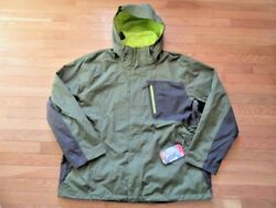 NORTH FACE MENS VARIUS GUIDE JACKET SCALLION GREEN NWT $199 2XL