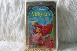 Disneyand039s The Little Mermaid Vhs Tape In Clamshell Case 1998 Special Edition