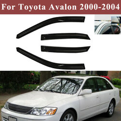 For Toyota Avalon 2000-2004 Window Visor Vent Rain Guards Weather Shades Tinted