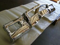 Nos Oem Ford 1971 1972 Lincoln Town Car Front Bumper Chrome Trim Center Section