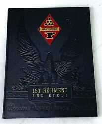 1946 Us Army Ordnance Replacement School 1st Regiment 2nd Cycle Yearbook