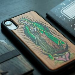 For Apple Iphone 11 Pro Se Xs Max Xr/x/8/7 Plus Real Wood Wooden Case -guadalupe