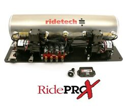 Ridetech Ridepro-x Airpod Compressor And Leveling System,5 Gallon,air Springs,tank