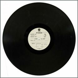 Badfinger 1973 Ass Capitol Records Double Sided Acetate Usa