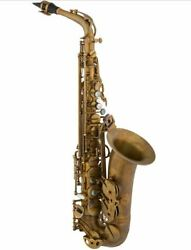 Eastman 52nd St. Eb Alto Saxophone Mint With Original Case Neck And Mouthpiece