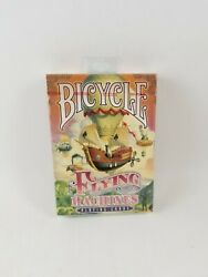Bicycle Flying Machines Playing Cards Poker Size Deck Limited Edition Sealed.new