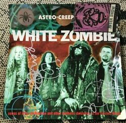White Zombie Astro-creep Signed/autograph Poster, Backstage After Pass, Sticker