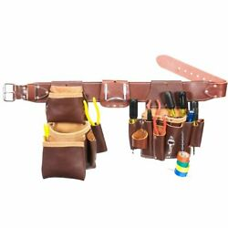 Occidental Leather 5036sm Leather Pro Electrician Tool Belt Bag Set - Size Small