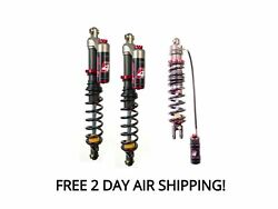 Elka Stage 4 Front And Rear Shocks Suspension Kit Spyder Can-am F3 F3-s