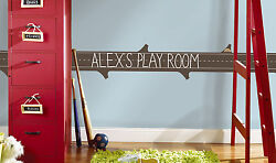LEARNING LOG CHALKBOARD WALL DECALS Educational Peel and Stick Border for Kids