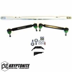 Kryptonite Ss Series Center Link And Tie Rods With Pisk Kit For 2001-2010 Gm 2500
