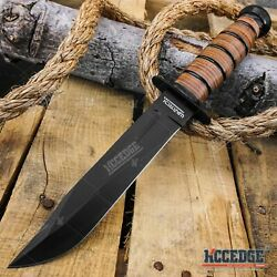 Wartech 12 Military Usmc Bushcraft Knives Survival Tactical Fixed Blade