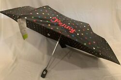 """*NEW With Tags* Totes umbrella with """"Penny"""" Embroidered in pink $11.99"""