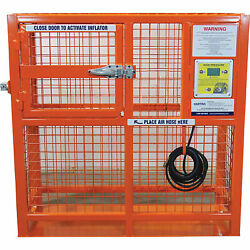ESCO Tire Inflation Cage - 50in. Outside Dia., Model# 90422
