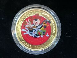 2015 Looney Tunes 100 14k Proof Gold Coin 12g Watch Set Coa Royal Canadian Mint