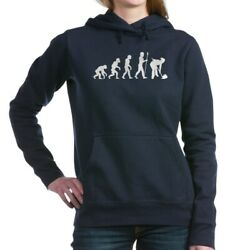 CafePress Curling Evolution Pullover Hoodie (2009761330)