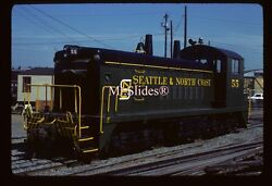 Original Slide Snct Seattle And North Coast Sw1200 55 In 1981 At Seattle Wa