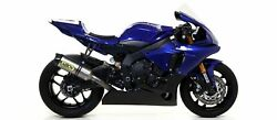 Complete Exhaust Competition Arrow Full Titanium Yamaha R1 2017-20