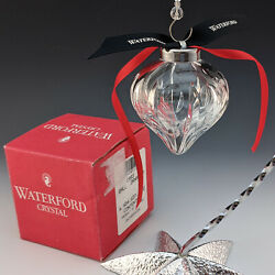 Waterford Crystal 1993 2nd Edition Annual Ball Christmas Tree Ornament Mib