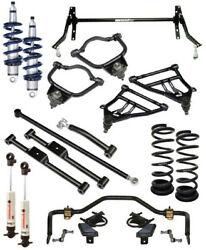RIDETECH COILOVER SYSTEM,STRONGARM CONTROL ARMS,MUSCLEBAR SWAY BARS,59-64 B-BODY
