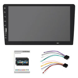 9and039and039 Single Din Hd Touch Screen Car Stereo In Dash Mp5 Player Fm Radio Bluetooth