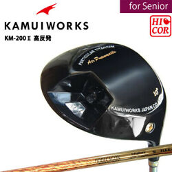 for SENIOR 2019 Kamui Works Golf Japan KM-200 II Driver Hi-COR DODEKAGON R2 19at