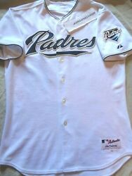 Authentic Majestic San Diego Padres Heath Bell Mlb Jersey Adult Size 48