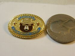 Smokey The Bear Prevent Forest Fires Pin And The American Cowboy