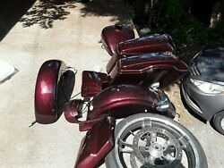 motorcycle parts. Harley Davidson. Chrome motor cycle parts. Road Glide.