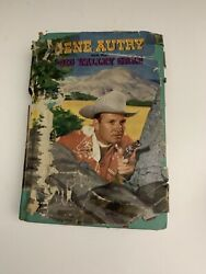Vintage Gene Autry And The Big Valley Grab And Autographed Silver Certificate Bonus